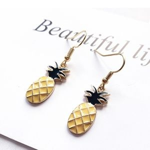 3/$20 New Pineapple Dangle Earrings